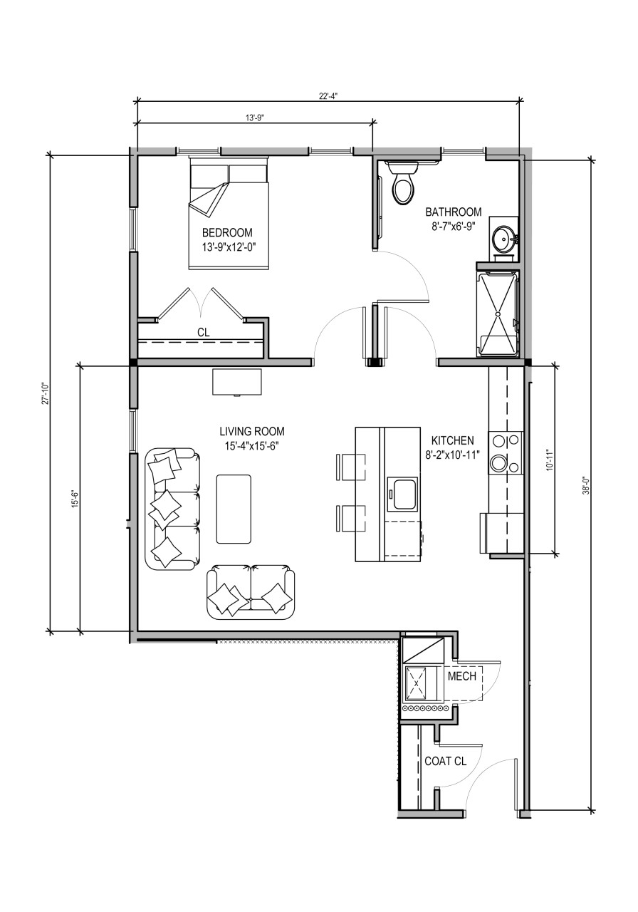 100 Senior Housing Floor Plans Applewood