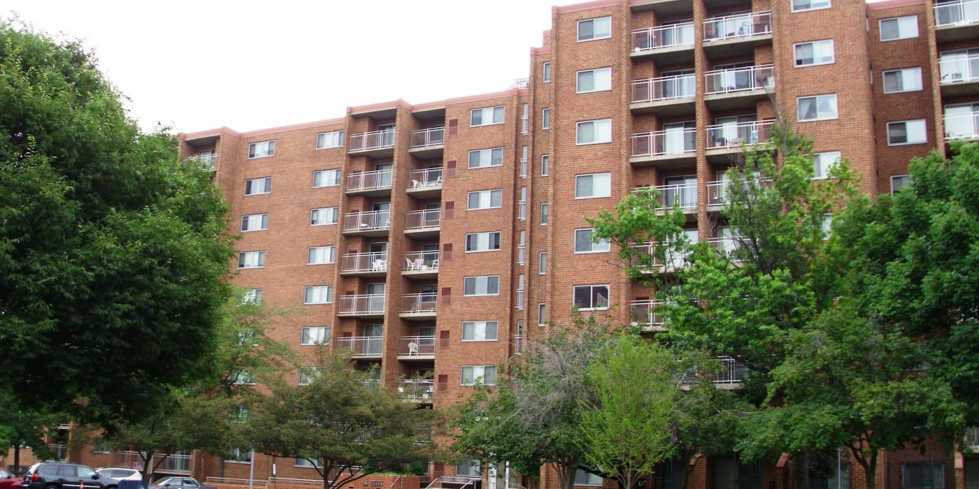 Golden Rule Apartments: Front Exterior