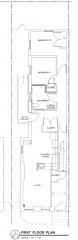2BR1BA floor plan Temple II
