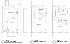 3BR1BA floor plan Temple II