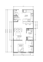 Bordentown floor plan 1