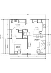 Bordentown floor plan 2