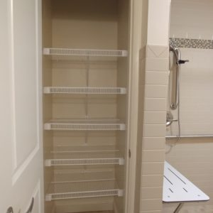 Accessible linen closet
