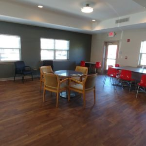 Community Room tables