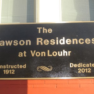 Lawson Residences VL Sign