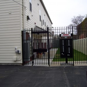 Powelton Gardens gate