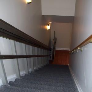 Powelton Gardens stairway