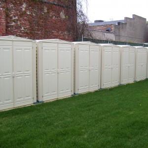 Powelton Gardens storage