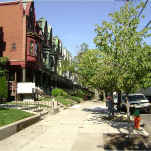 parkside street scape